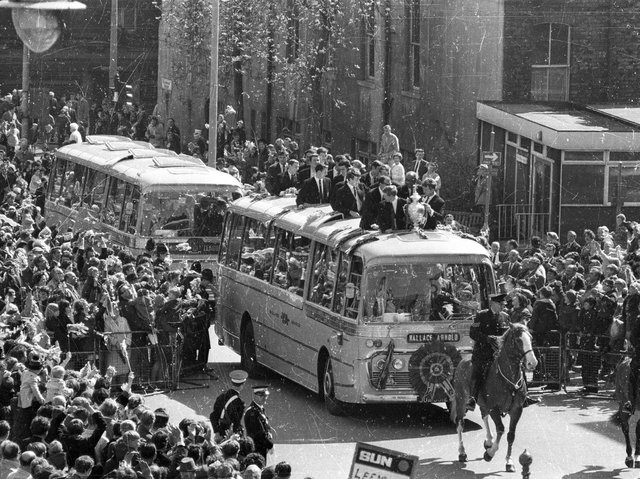 The Loiners return to Leeds with the Challenge Cup in 1968.