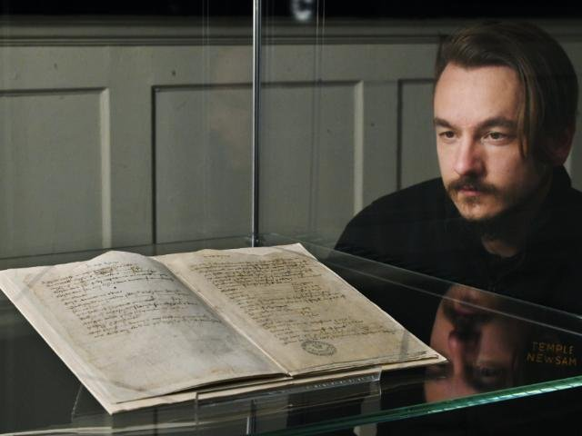 The list, which is more than 500 years old, is set to go on public display.