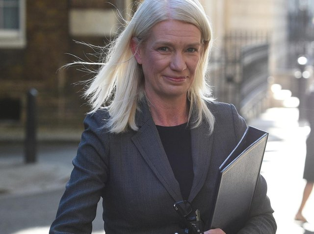 Conservative Party co-chairman Amanda Milling. Photo: PA