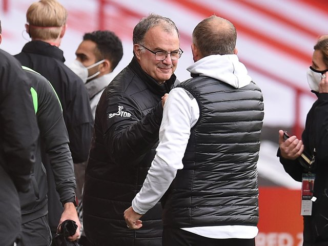 Marcelo Bielsa Cannot Be Drawn On Strength Of Manchester City As Leeds United Head Coach Makes Chris Wilder Admission Yorkshire Evening Post