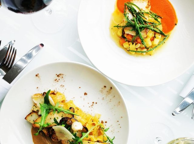 Dishes from the new Autumn Prix Fixed menu at Harvey Nichols in Leeds.