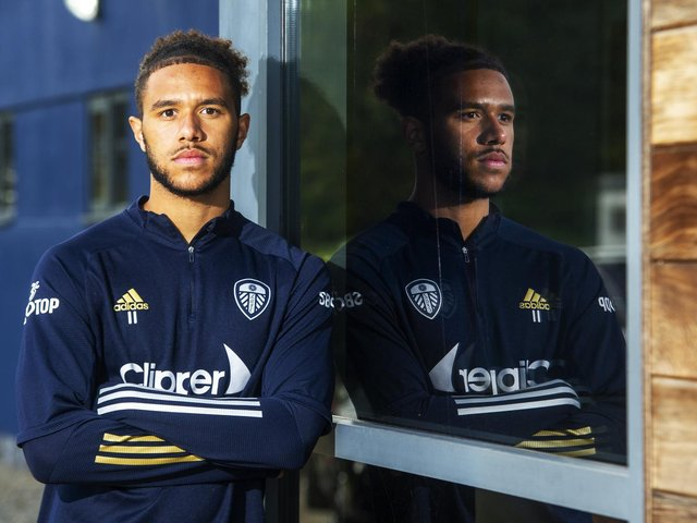 Leeds striker Tyler Roberts speaks out against racism in the game and society.