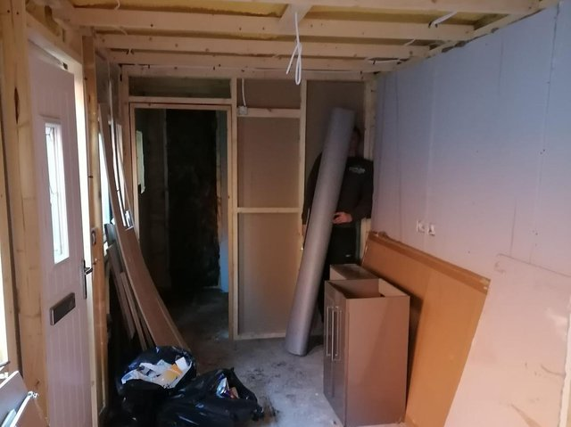 Vulnerable Citizen Support is building a home out of a donated shipping container to house a homeless person (photo: Vulnerable Citizen Support)