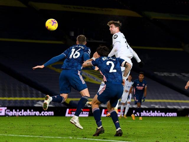Leeds United 0 Arsenal 0: Ten-men Gunners survive twenty-five Whites attempts in goalless draw | Yorkshire Evening Post