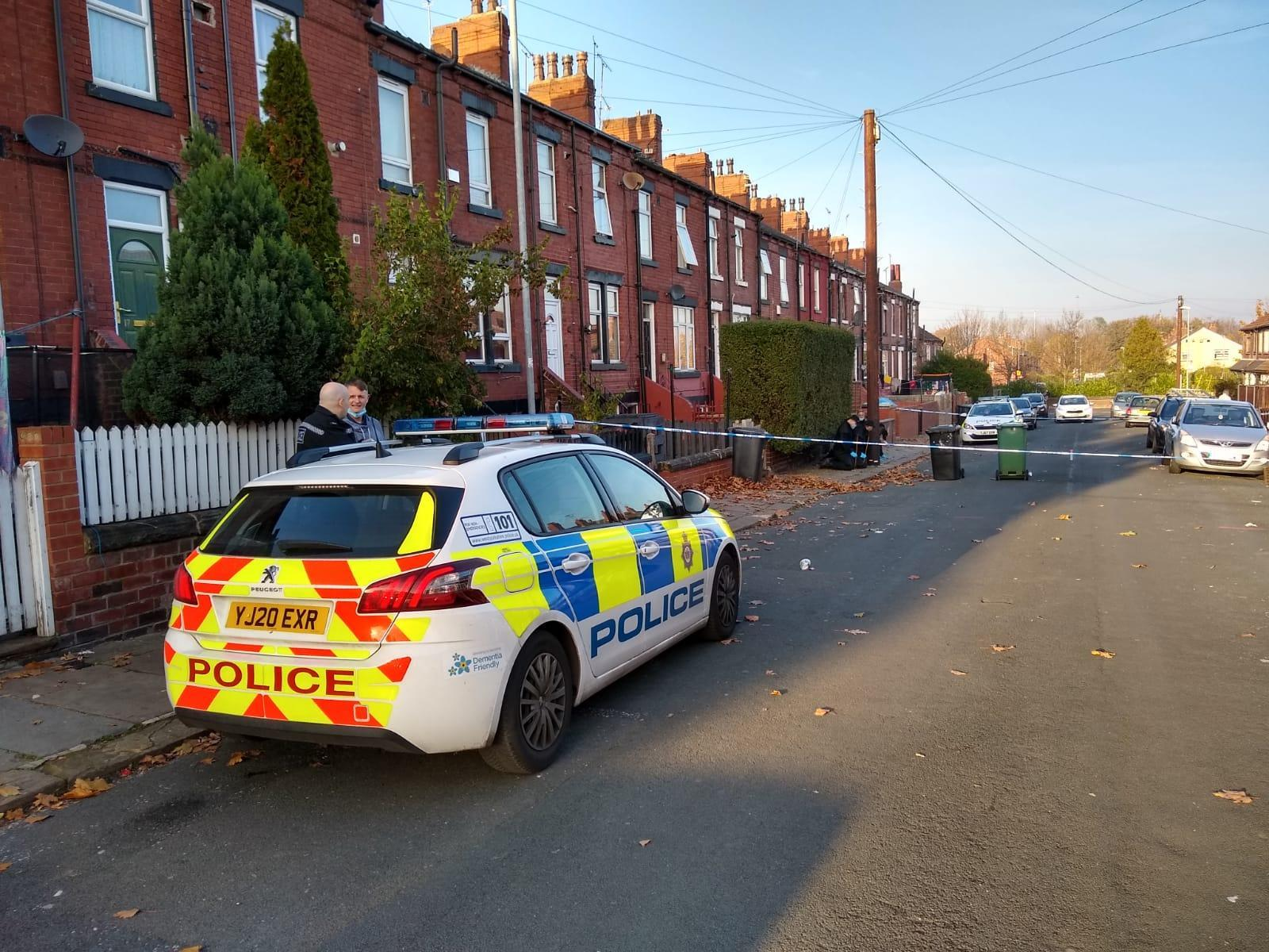 Two people charged over gunshot in Beeston after police search tents in Leeds city centre