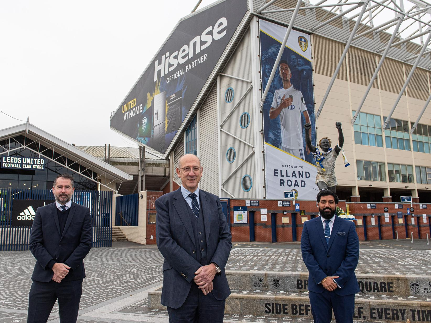 Leeds United unveil EURO 2020 sponsor Hisense as a new official partner