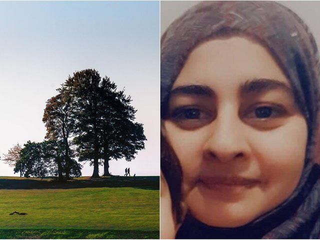 Nailah Hussain had been for a walk in Roundhay Park.