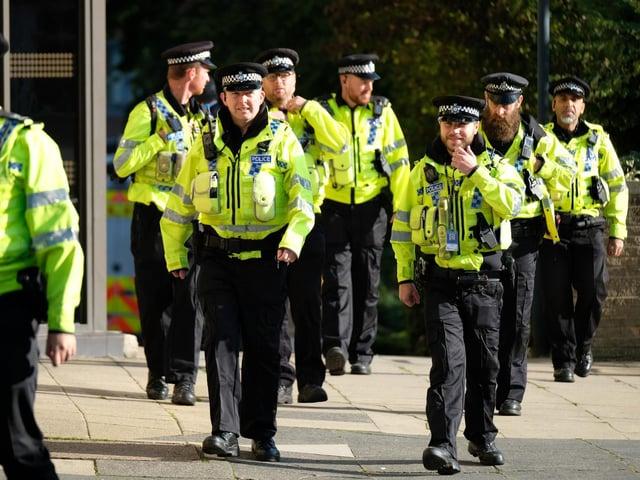 La police du North Yorkshire recrute des officiers (photo : SWNS).