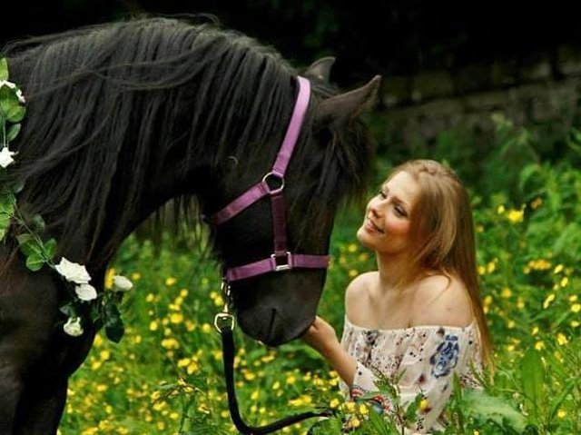 India Evans has volunteered for Hope Pastures sanctuary since being 16 (photo: India Evans)
