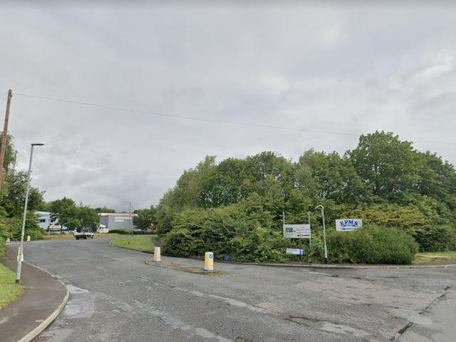 Waterside Industrial Park, Stourton (photo: Google).