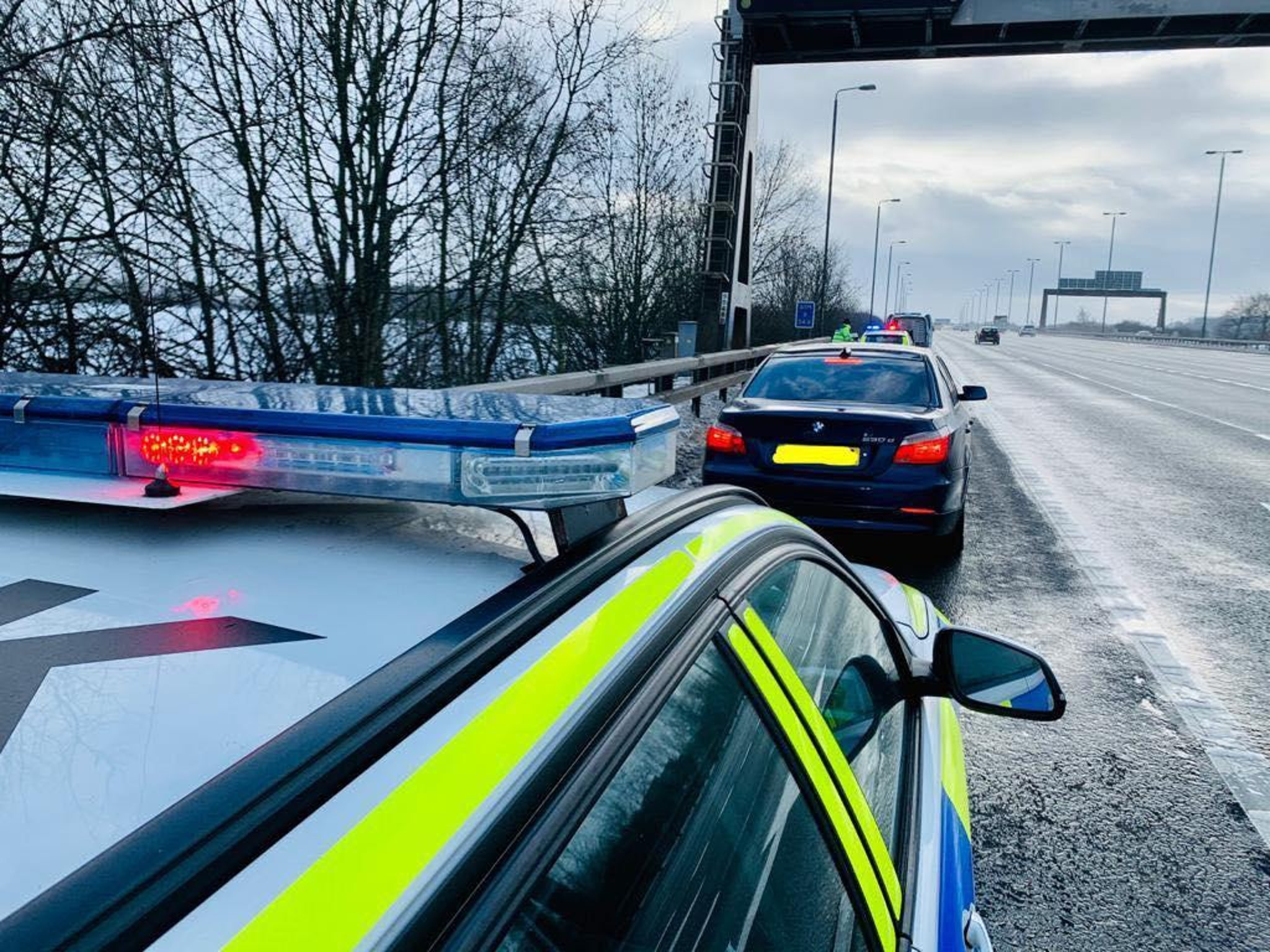 Three arrested for money laundering after unlicensed driver stopped by police in Leeds