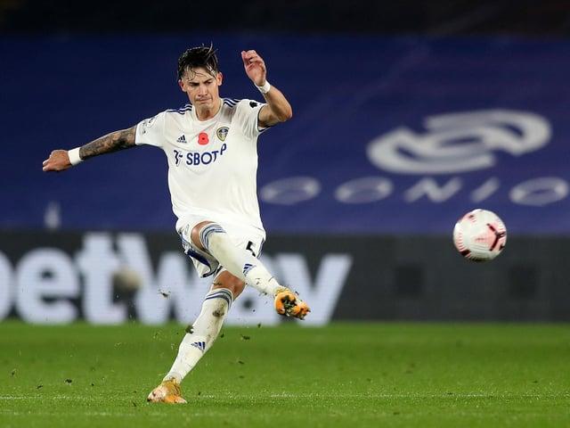 Zur Verbesserung: Der deutsche Verteidiger von Leeds United, Robin Koch, erschien auf einem Foto der Niederlage gegen Crystal Palace im November.  Fotografie von Naomi Baker / Getty Images.