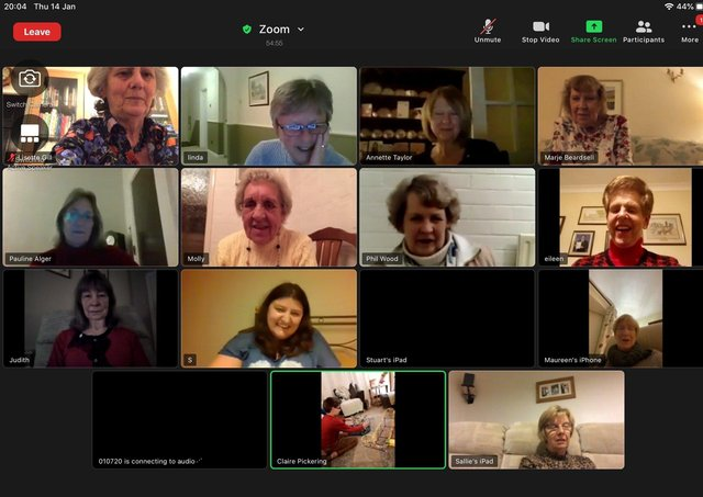 Members of Soroptimist International of Wakefield have been using Zoom to discuss projects like toilet twinning overseas.