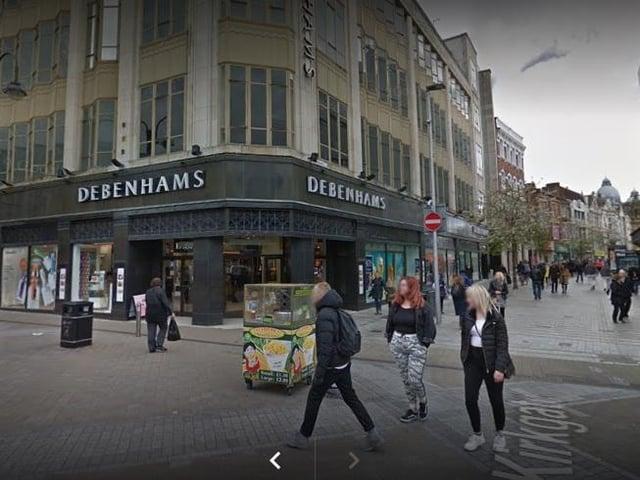Leeds shoppers react as Debenhams announces store closures in city