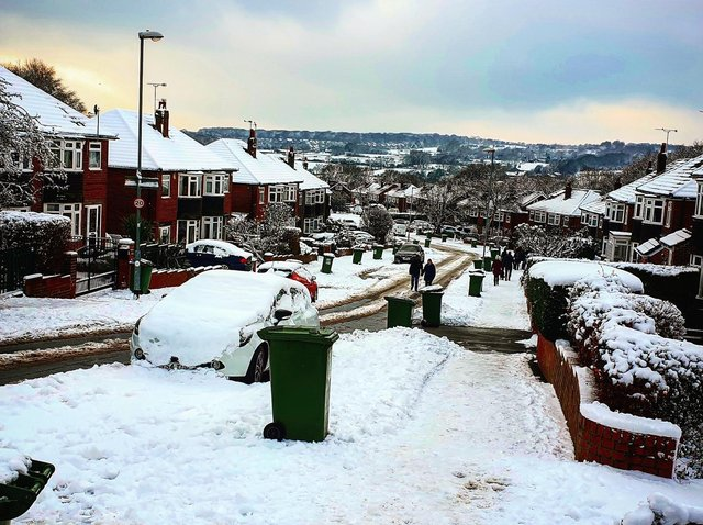 Leeds Council has cancelled all bin collections due to the snow