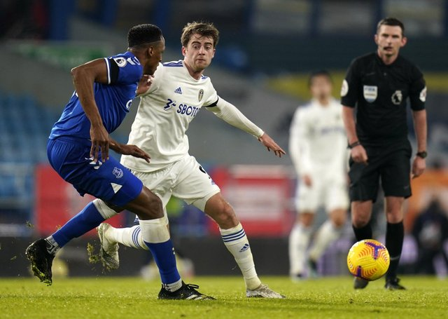 Leeds United's Patrick Bamford - is he close to earning an England cap? Picture: Tim Keeton/PA Wire.