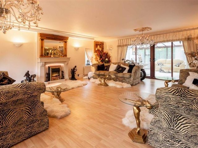 Take a look inside this quirky Alwoodley mansion.