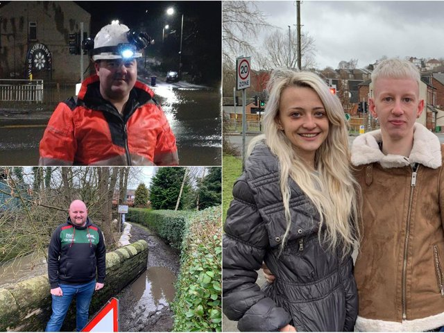 In Pudsey, councillor Simon Seary - along with a crew of around 20 residents of a neighbouring estate - created a temporary flood barrier using sandbags donated by local business Farmac.