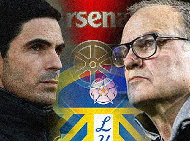 Leeds United travel to take on Arsenal in the Premier League.