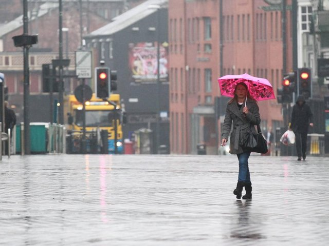 """Three areas of Yorkshire are at risk of flooding with """"immediate action required"""", a warning released tonight said. cc SWNS"""