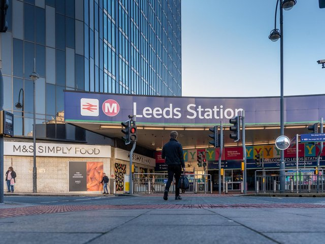 Emergency services are dealing with an incident between Leeds Station and Bradford Interchange.