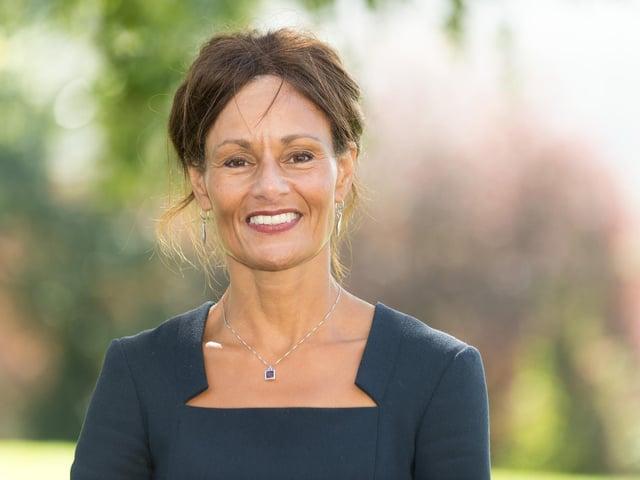 Janet Sheriff, headteacher at Prince Henry's Grammar School in Otley.