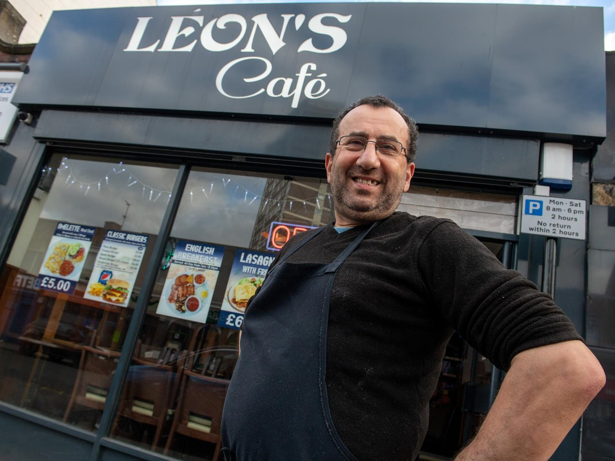 Leeds cafe owner raises £400 for elderly man who was robbed and assaulted in Armley