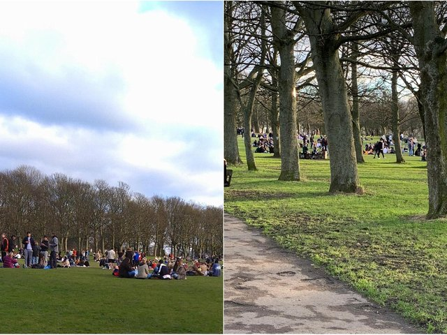 Woodhouse Moor, Leeds (photos: Lydia Westerman and Alison Mcneil)