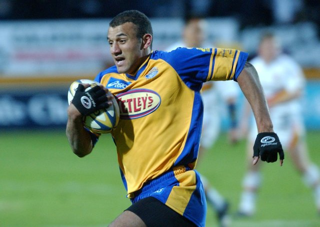ON THE SCORESHEET: Mark Calderwood touched down against London Broncos on this day in 2003. Picture: Steve Riding.