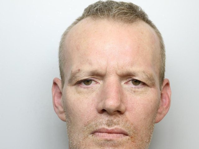 Martin Longstaffe was jailed for 33 months for attacks on his partner and a friend.