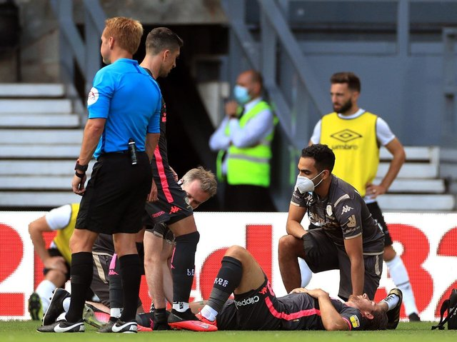 Leeds United defender Gaetano Berardi suffered a torn ACL last July. Pic: PA