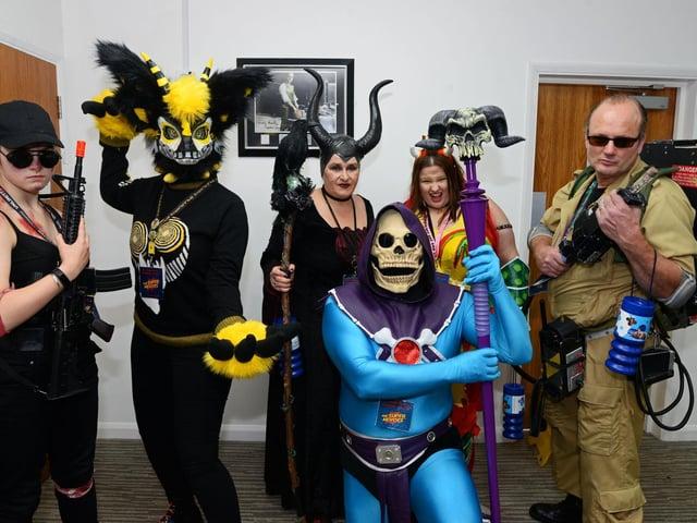 A Sheffield Comic-Con event in 2019.