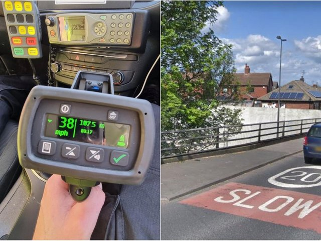 Police set up mobile cameras on a stretch of Pepper Road, Hunslet, which has a 20mph speed limit (Photo: WYP/Google)