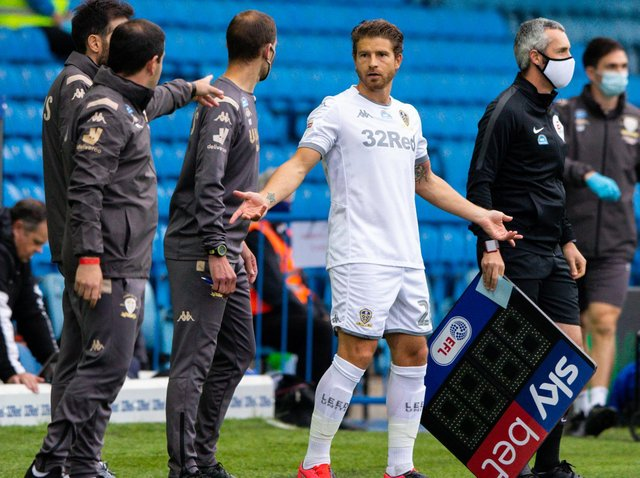 BERARDI'S BACK - Gaetano Berardi played 45 minutes of Premier League 2 action for Leeds United Under 23s on Monday. Pic: Getty
