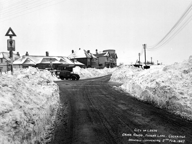 These astonishing photos showcase how Leeds coped with one of the harshest winters on record in 1947. PIC: Leeds Libraries, www.leodis.net