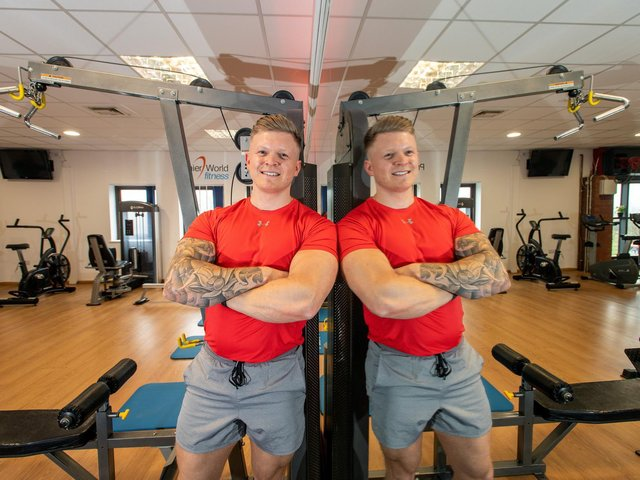 Jamie Wheatley, the owner of Premier World Fitness in Garforth.