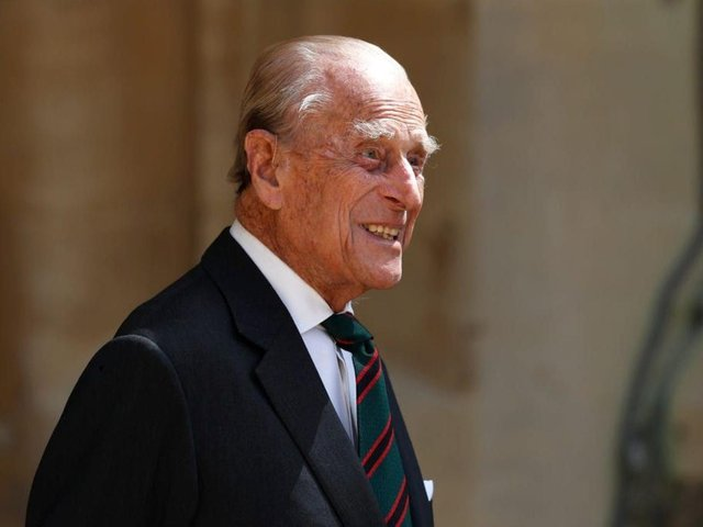 Prince Philip spent a night in a new hospital on Monday