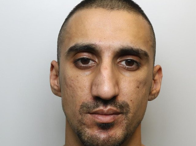 Drud dealer Rizwan Attaullah was jailed for more than 11 years for causing the death of his friend in a car crash in Wakefield and attacking his former partner while on bail.