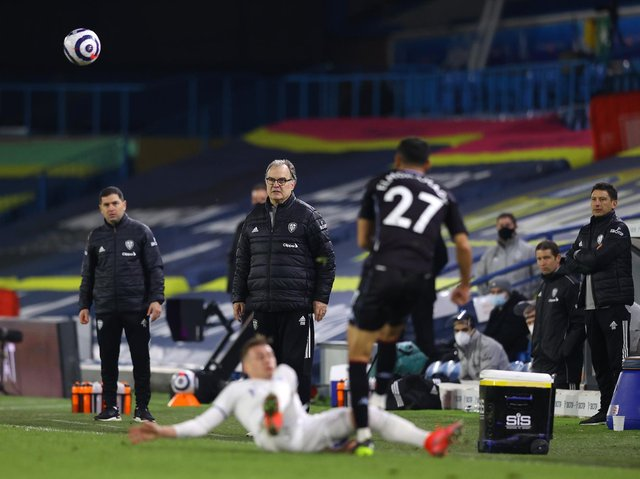 KEY OBJECTIVES - Marcelo Bielsa wanted to give Leeds United players with niggles a chance to rest and recover this week, without a fixture before Monday's visit to West Ham United. Pic: Getty