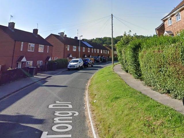 Tong Drive, Farnley (photo: Google)
