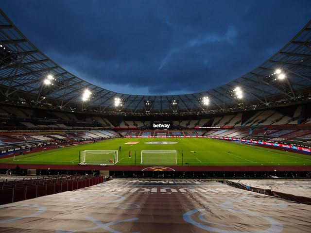CAPITAL CALLING: Leeds United will visit the London Stadium, above, on Monday evening for their next Premier League assignment against hosts West Ham United. Photo by John Sibley - Pool/Getty Images.