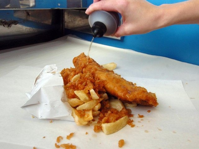 The students were fined for travelling for fish and chips on the beach