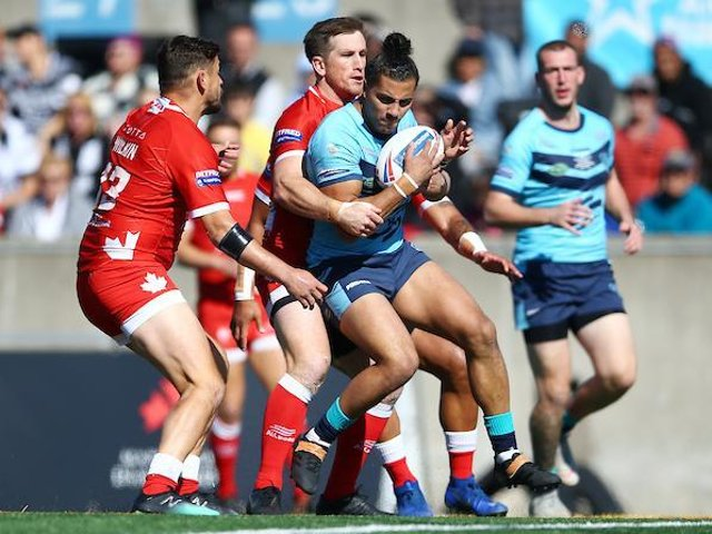 Featherstone were beaten at Toronto in the 2019 Championship Million Pound Game. Picture by Vaughn Ridley/SWpix.com