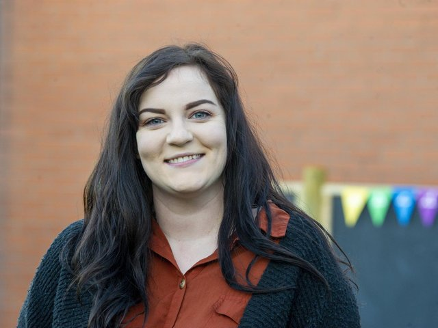 Rachel Law, head of the Rainbow Base provision at Richmond Hill school.