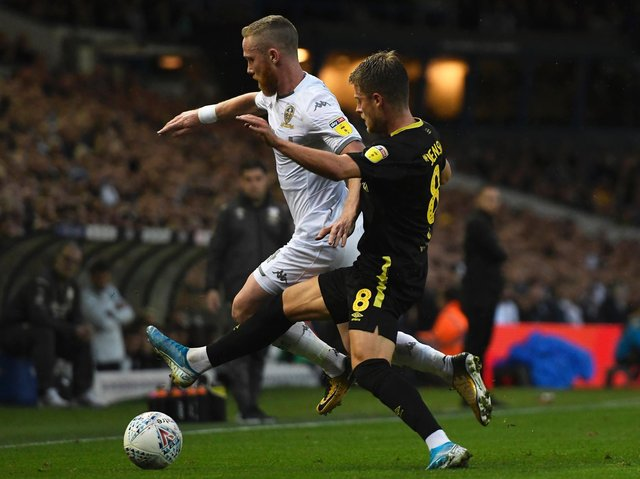 STILL FIGHTING - Adam Forshaw is doing everything in his power to recover from injury says Leeds United head coach Marcelo Bielsa. Pic: Getty