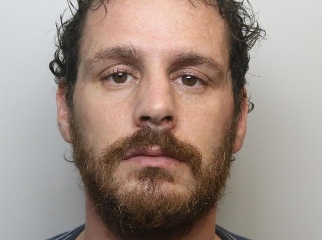 Sean McConnell, 35, from Halifax, has been jailed for 23 years (Photo: WYP)