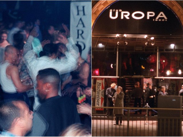 These photos will take you right back to a night out in Leeds in 1996...