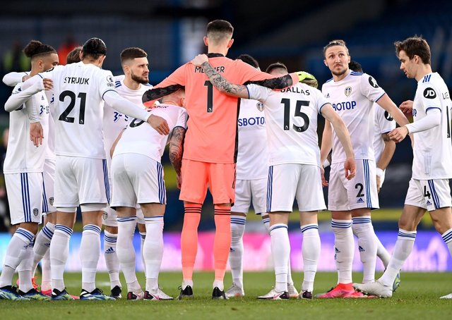 Leeds United take on West Ham on Monday night. Picture: Laurence Griffiths/PA Wire.
