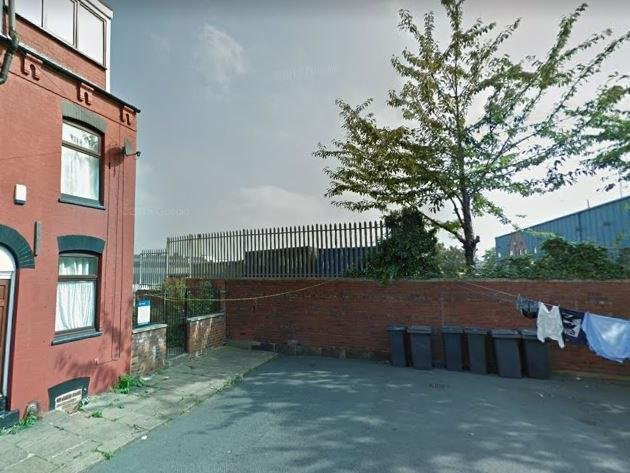 Walford Terrace, Burmantofts, where the incident took place (Photo: Google)