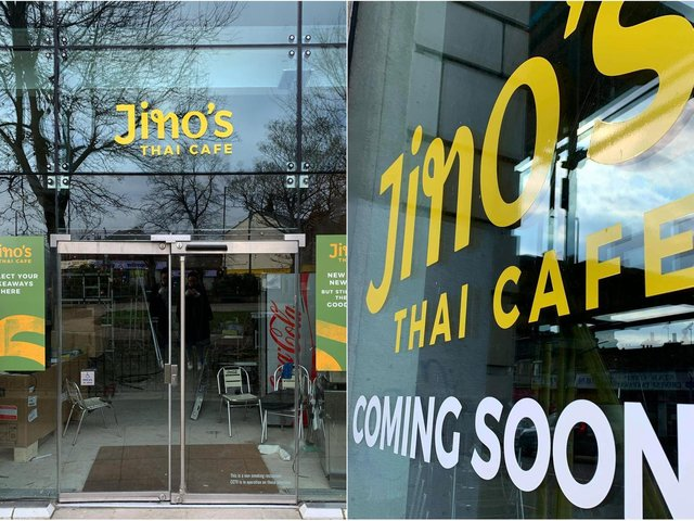 The new Jino's Thai Cafe in North Street, Headingley, which is set to open next week
